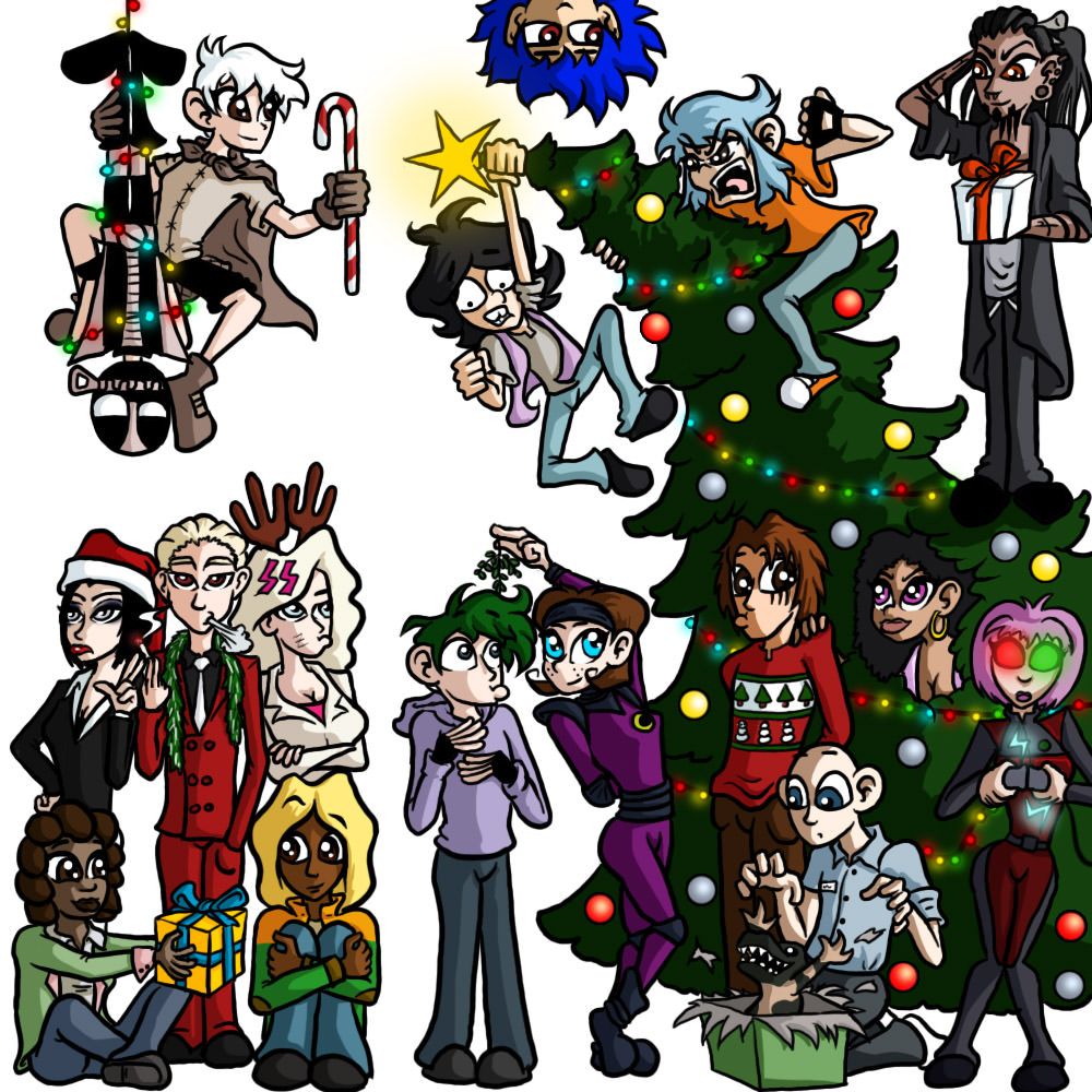 Merry Christmas! By Argylefox