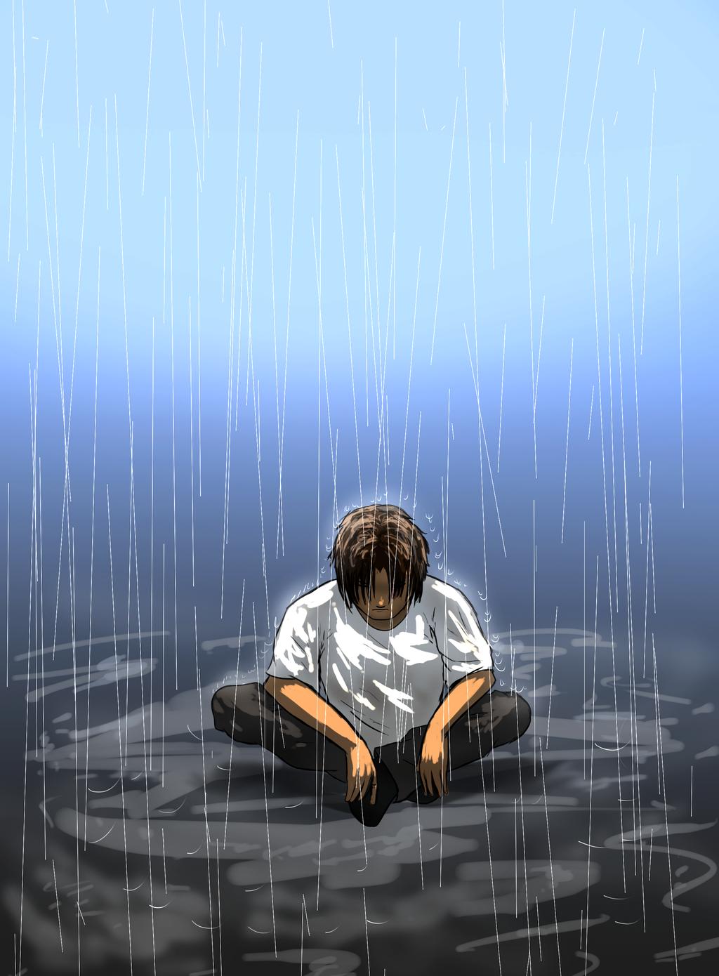 Rainy Hizruk by Dreamfollower
