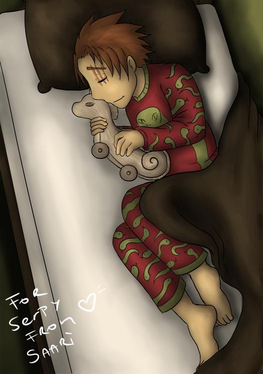 Sleeping Hizzy by Saari