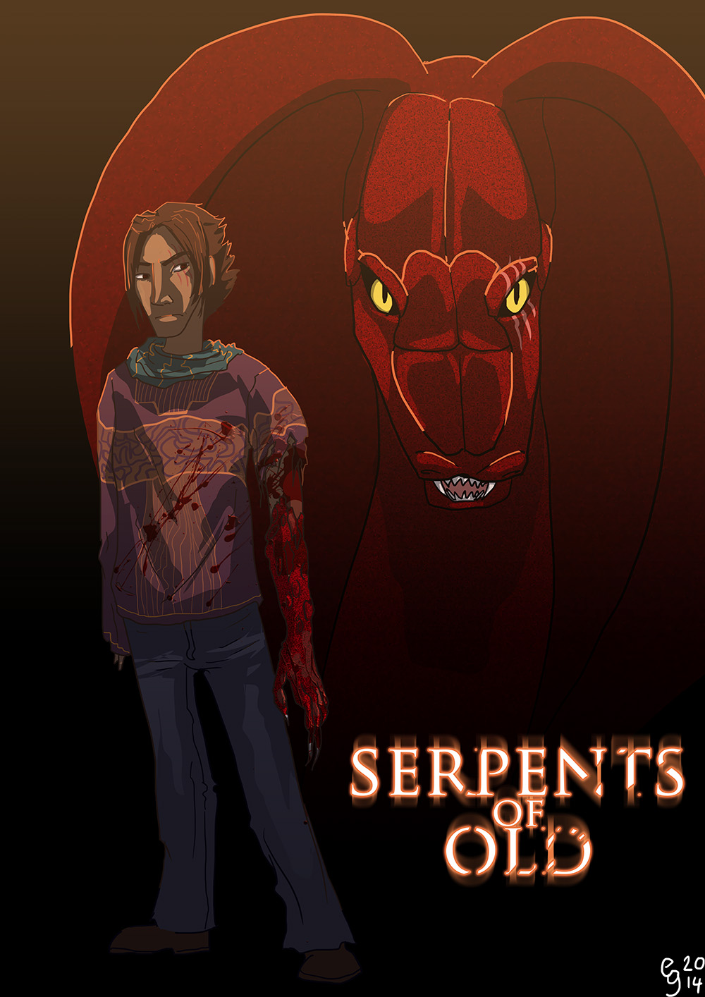 Hizruk Serpent by Spelledeg