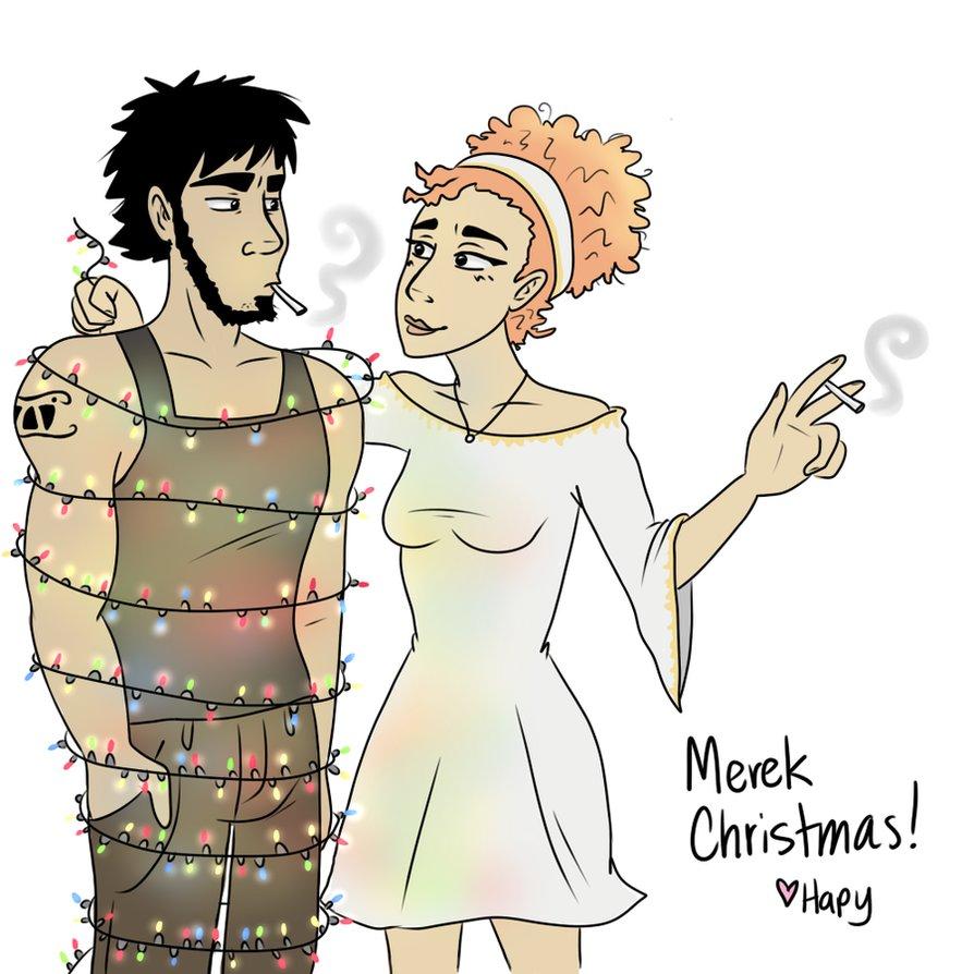Merek Christmas by HapyCow