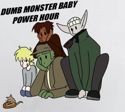 Cute Monsters by Keltyzoid